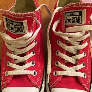 Converse All Stars size 9 Hot Pink